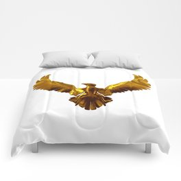 Gold eagle Comforters