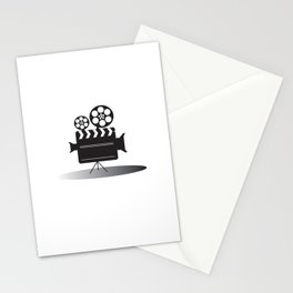 Video Camera Stationery Cards