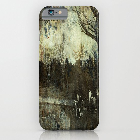 Hunting Kangaroo's iPhone & iPod Case