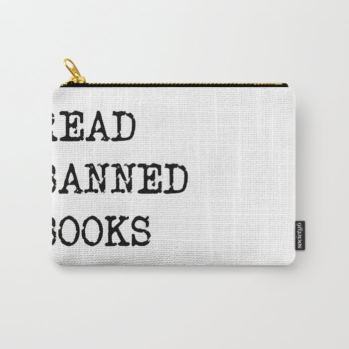 Read Banned Books Carry-All Pouch
