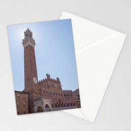 Torre del Mangia, Siena Stationery Cards