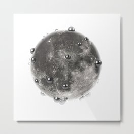 My Moon Metal Print