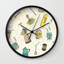 YERBA MATE LOVE Wall Clock