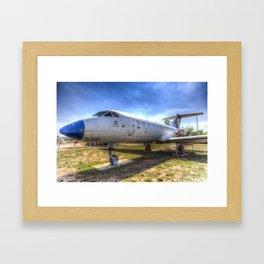 Jak-40 Aircraft Framed Art Print