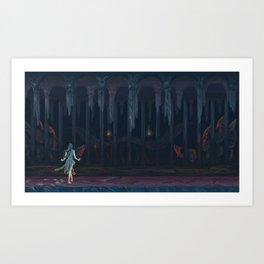 Lurker in the Darkness Art Print