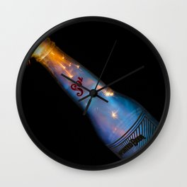 Bottle of Gasoline  Wall Clock