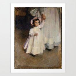 Cecilia Beaux - Ernesta (Child with Nurse) Art Print