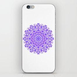 Mandala 12 / 5 eden spirit purple lilac white iPhone Skin