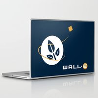wall e Laptop & iPad Skins featuring Wall • E by Citron Vert
