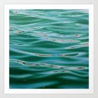 Barcelona Harbour Art Print