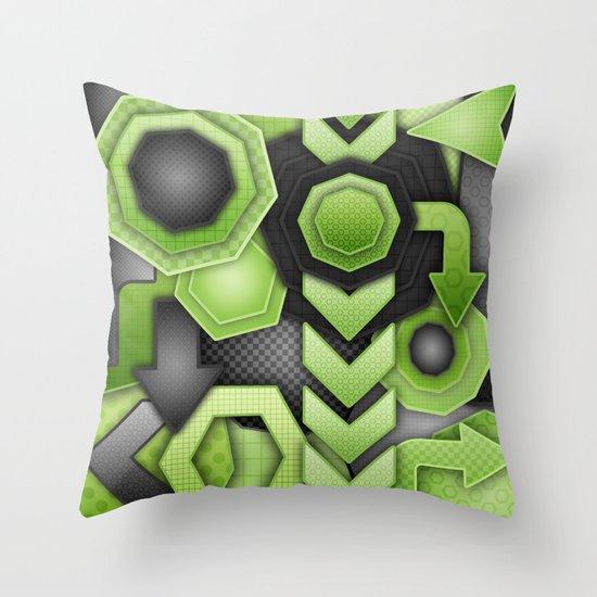 Strike Out! Throw Pillow