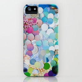 Blueberry Garden iPhone Case