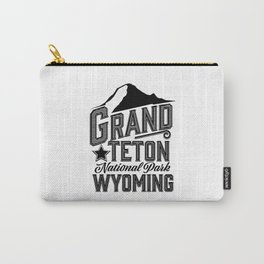 Grand Teton National Park, Wyoming Carry-All Pouch