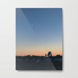 Goodnight Beach Metal Print