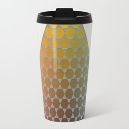 Lichtenberg-Mayer Colour Triangle vintage remake, based on Mayers' original idea and illustration Travel Mug