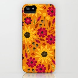 Fall is in th Air iPhone Case