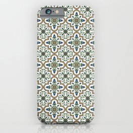 Spanish Tile Pattern – Andalusian ceramic from Seville iPhone Case