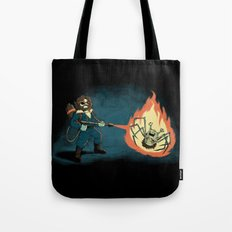 KILL IT WITH FIRE Tote Bag