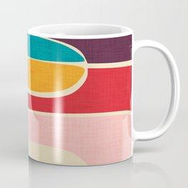 Wondering Waves #homedecor #midcenturydecor Coffee Mug