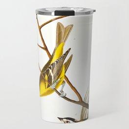 Arkansaw Siskin Bird Travel Mug