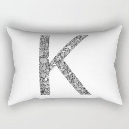K Stones Rectangular Pillow