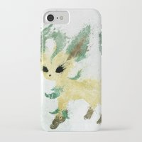 leaf iPhone & iPod Cases featuring Leaf by Melissa Smith