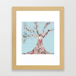 Blossom tree Framed Art Print