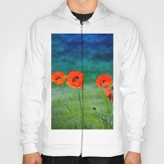 Poppies paradise Hoody