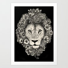 King of Blooms 2 Art Print