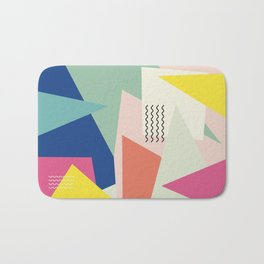 Shapes and Waves Bath Mat