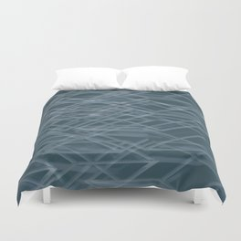 Abstract geometric background Duvet Cover