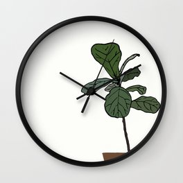Fiddle Obsession Wall Clock
