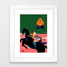 POCOTÓ Framed Art Print