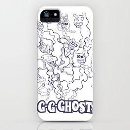 GGGHOSTS! iPhone Case