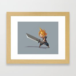 Cloud Strife Framed Art Print