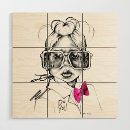 #STUKGIRL Penny Wood Wall Art