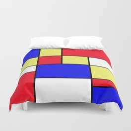 Abstract #412 Duvet Cover