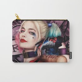 Margot Robbie as Harley Quinn Digital Painting - Suicide Squad Carry-All Pouch