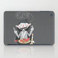 vegan iPad Cases featuring Vegan Vampire by Ukko