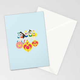 Sailor Soldiers Stationery Cards