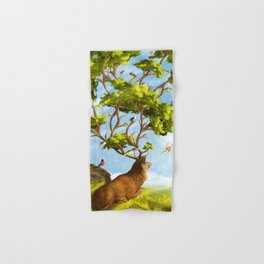 The Forest of Songs Hand & Bath Towel