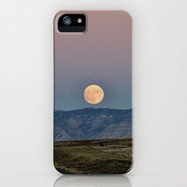 Colorado Supermoon iPhone Case