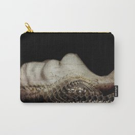 Flesh and Bone Suspended ~ Horizontal Image Carry-All Pouch