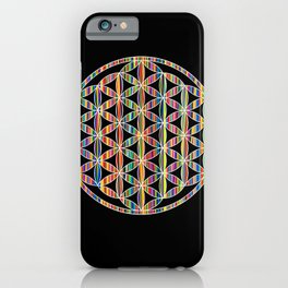Flower of Life Colored | Kids Room | Delight iPhone Case