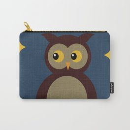 Brown Owl Moon Carry-All Pouch