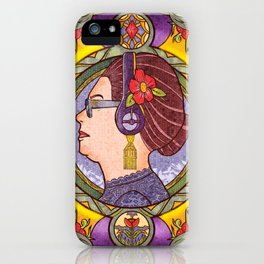 Om Kalthoum, The Immortal iPhone Case