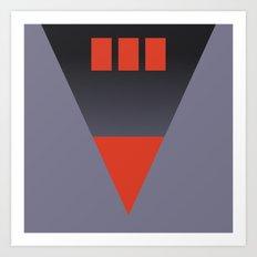 vhs box 2 Art Print