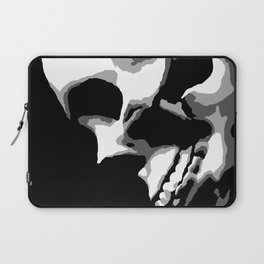 Skull Over Darkness Laptop Sleeve