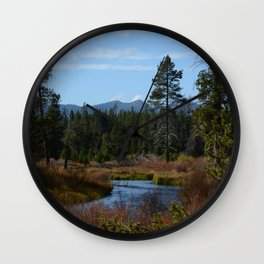 Fall Colors Wall Clock