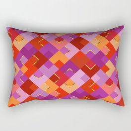 Poppy Colors for Fun Rectangular Pillow